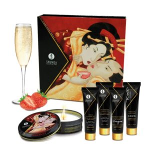 GEISHA SECRET KIT SPARKLING WINE STRAWBERRY